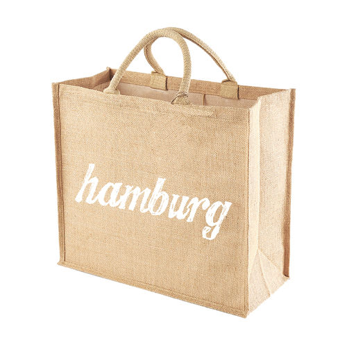 Jutetasche Shopper HAMBURG